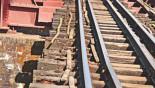 Shoddy railway maintenance