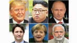 Kim threatens while world leaders issue New Year greetings