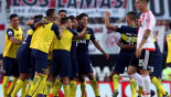 Tevez double leads Boca to victory at River