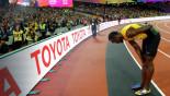 Bolt rues start, booed Gatlin hails his 'amazing' rival