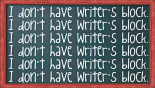 Breaking Writer's Block