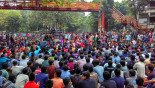 Buet students block roads, demand secure campus