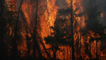 Canada wildfire 'to double in size'