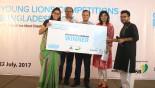 Grey, Magnito teams win Young Lions Competitions Bangladesh 2017