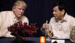Duterte sings at Trump's request