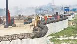 Metro rail project slows down
