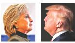 Clinton in eye of Trump storm