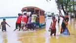 Flash flood hits Sylhet