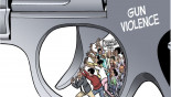 Of Americans' deadly love affair with guns