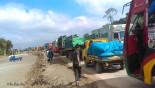 Tailback on Dhaka-Tangail highway continues