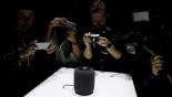 Apple debuts HomePod speaker