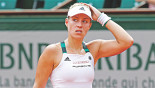 A historic loss for Kerber