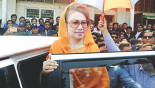 Hasina lucky, 'didn't have to appear in court'