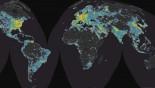 Light pollution 'affects 80% of global population'