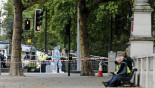 Man held after crash near London museum, 11 injured