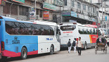 Luxury buses make much headway in intercity travel