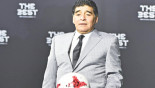 MARADONA'S NIGHT AT THE OPERA