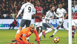 Mata, Ibra see off West Ham
