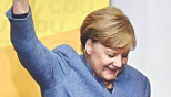 Merkel wins fourth term, exit polls show