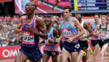 Farah eases to victory, Thompson edges Schippers