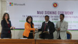 Microsoft signs MoU with A2i programme