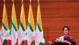 Highlights: Suu Kyi addresses nation on Rohingya crisis