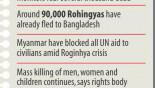Myanmar faces chorus of anger