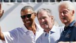 Obama, Bush, Clinton give Presidents Cup executive buzz