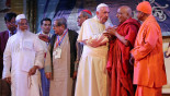 Pope calls refugees 'Rohingya' after emotional meeting in Dhaka