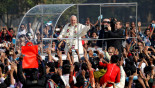 Pope celebrates Holy Mass at Suhrawardy Udyan