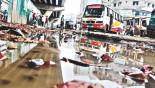 Rain leaves 300km roads battered