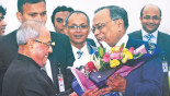 Pranab Mukherjee in Dhaka