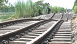 100km rail lines damaged by flood