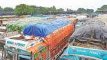 Rajshahi food transporters begin indefinite strike