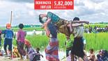 Rohingya influx, Naf River