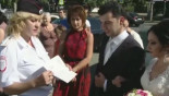 Russia: 'Wedding police' tackle unruly guests