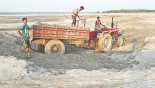 Illegal sand lifting poses erosion threat