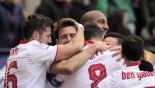 Sevilla win, Atleti slip