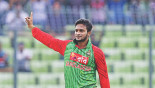 Shakib strikes twice in first over as Tigers bowl