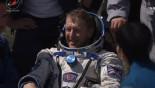 UK astronaut Tim Peake returns to Earth