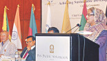 PM for Speakers' role in SDGs