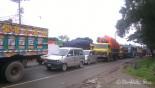 Eid rush, rain cause 20km-tailback on highway