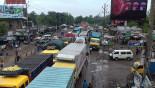 Long tailback on Dhaka-Tangail highway