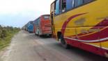 60km tailback on Dhaka-Tangail highway