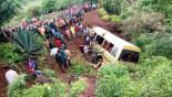 35 killed in Tanzania school minibus crash
