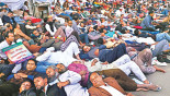 Fourth Day of Demo for MPO Facilities: Hunger strikers stay resolute