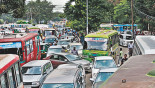 Khamarbari Roundabout: Traffic chaos for poor management
