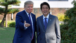 Trump lands in Japan, says US is prepared to defend freedom