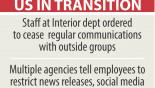 Trump admin seeks to censor agency staff