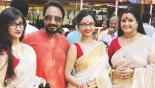 A full-fledged family affair Uttam and Chittralekha's Durga Puja